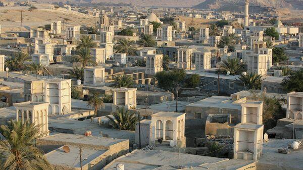 Вид на село в Иране