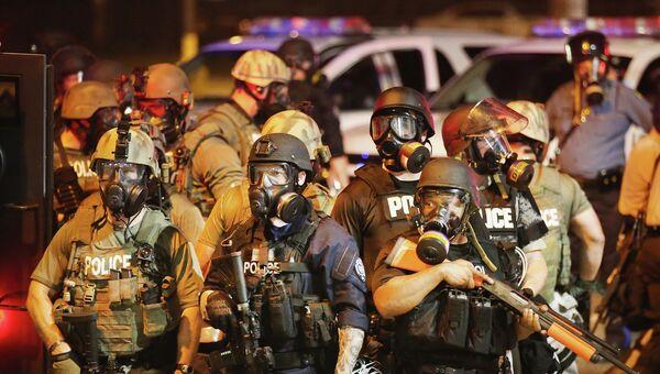 Беспорядки в городе Фергюсон, США. Архивное фото