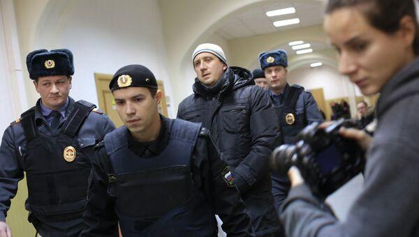 Александр Марголин доставлен в Басманный суд Москвы. Архивное фото