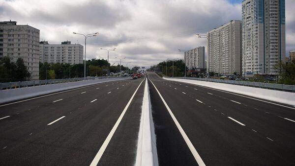 Новая многоуровневая транспортная развязка на Варшавском шоссе