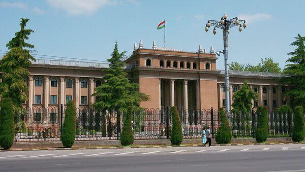 Президентский дворец в Душанбе (Таджикистан)