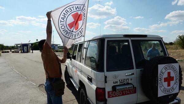 Автомобиль Красного Креста, архивное фото