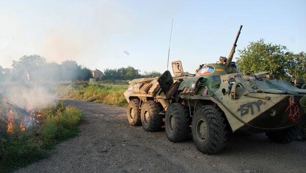 Последствия боев в Иловайске. Архивное фото