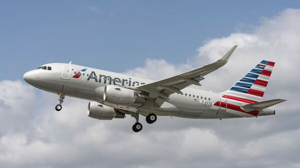 Самолет авиакомпании American Airlines. Архивное фото