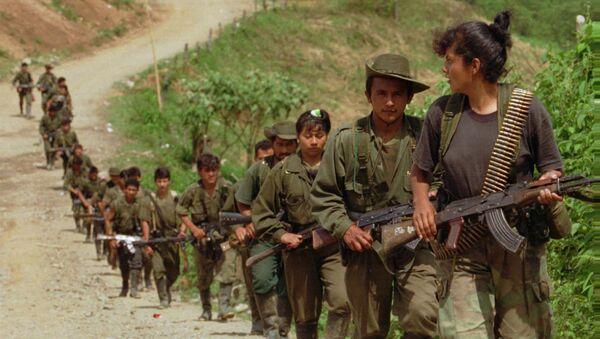 Повстанцы из Революционных вооруженных сил Колумбии, архивное фото