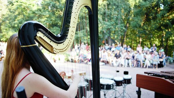 Благотворительный концерт из цикла Музыка в саду