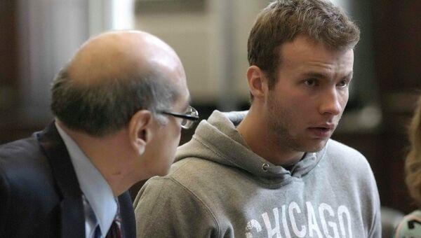 Россиянин Ярослав Колчин в зале суда в Нью-Йорке