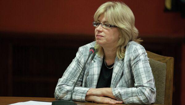 Министр образования и науки Латвии Ина Друвиете
