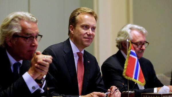 Министр иностранных дел Норвегии Берге Бренде. Архивное фото