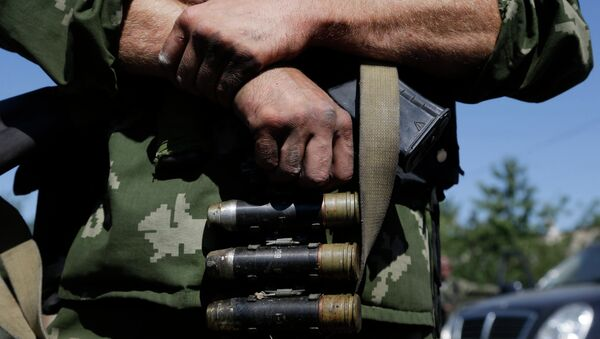 Ситуация в окрестностях Иловайска. Архивное фото