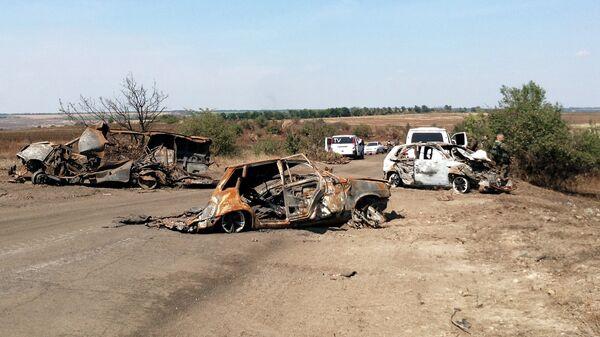Место гибели Андрея Стенина. Архивное фото