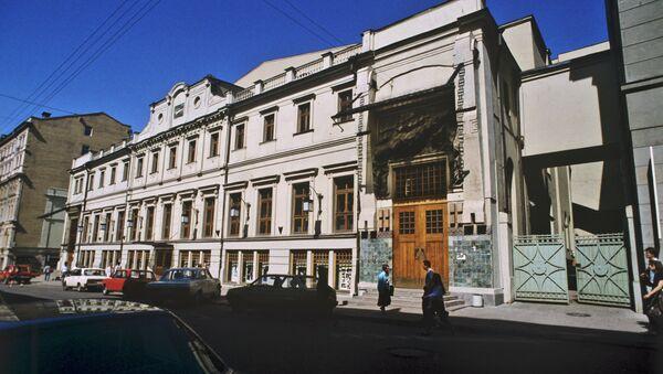 Здание Московского Художественного академического театра имени А.П. Чехова. Архивное фото
