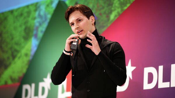 Основатель социальной сети Вконтакте  Павел Дуров
