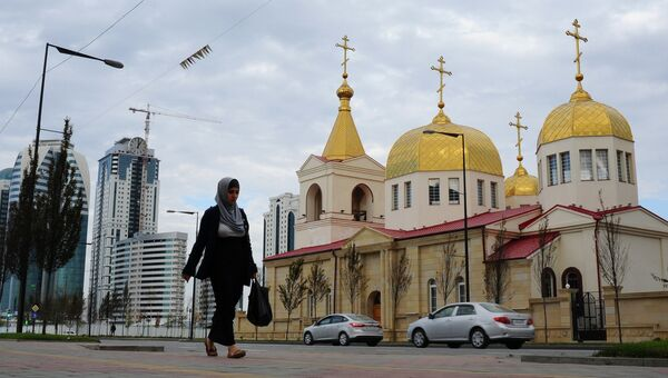Грозный. Чечня. Архивное фото