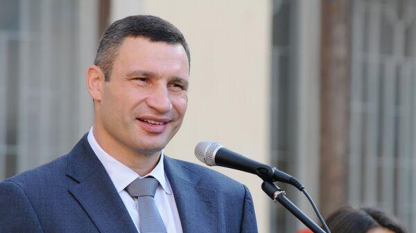 Мэр Киева Виталий Кличко, Архивное фото