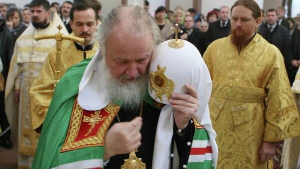 Освящение храма святого Георгия Победоносца УВД Калининградской области