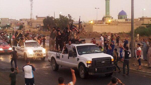 Сторонники Исламского государства Ирака и Леванта в Ираке. Архивное фото