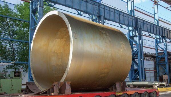 Опытная заготовка для обечайки активной зоны реактора проекта ВВЭР-ТОИ
