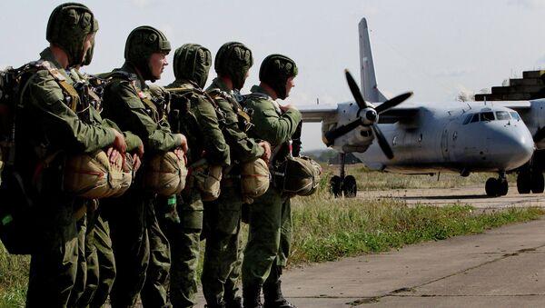 Учения десантно-штурмовой бригады ВДВ в рамках проверки боевой готовности войск ВВО