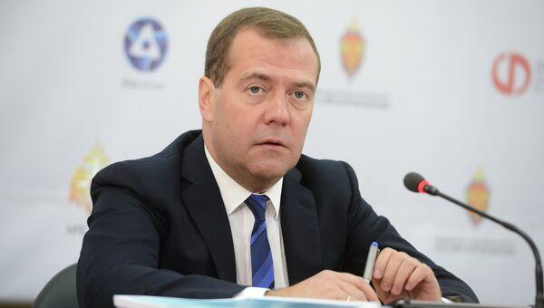 Д.Медведев, архивное фото.