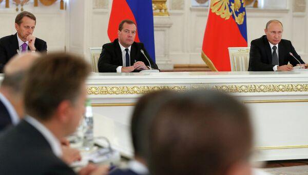 В.Путин провел заседание Государственного совета
