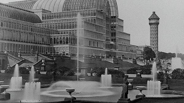 Хрустальный дворец в лондонском Гайд-парке