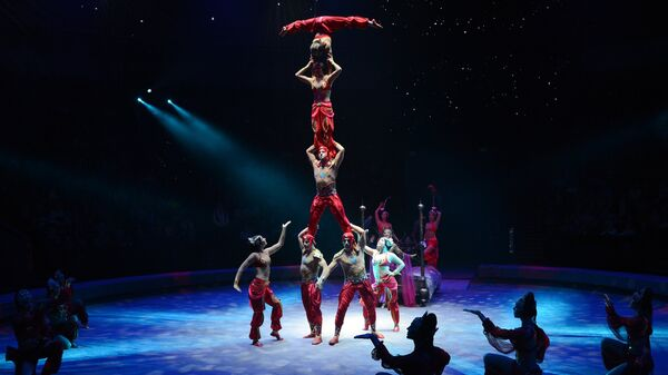 Цирк. Архивное фото