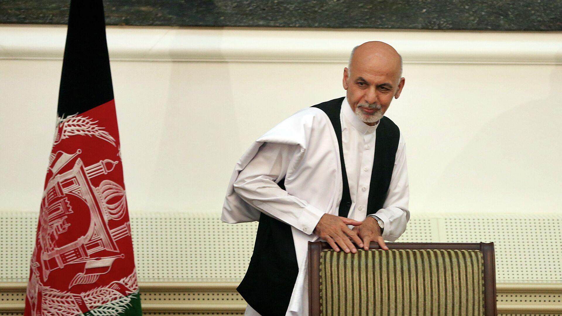Новый президент Афганистана Ашраф Гани Ахмадзай - РИА Новости, 1920, 23.07.2021