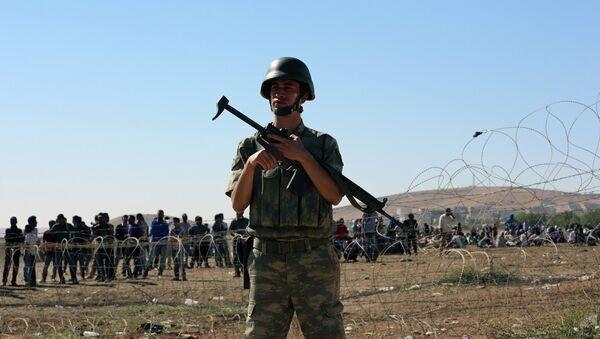 Турецко-сирийская граница. Архивное фото