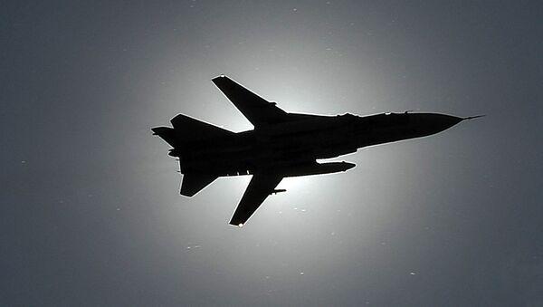 Самолет СУ-24. Архивное фото