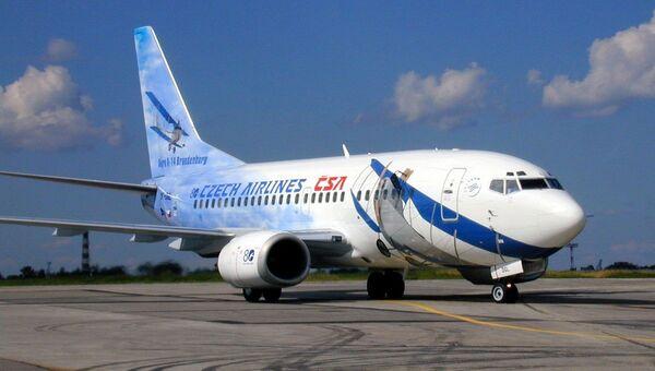 Самолет компании CSA Czech Airlines (Чешские авиалинии)