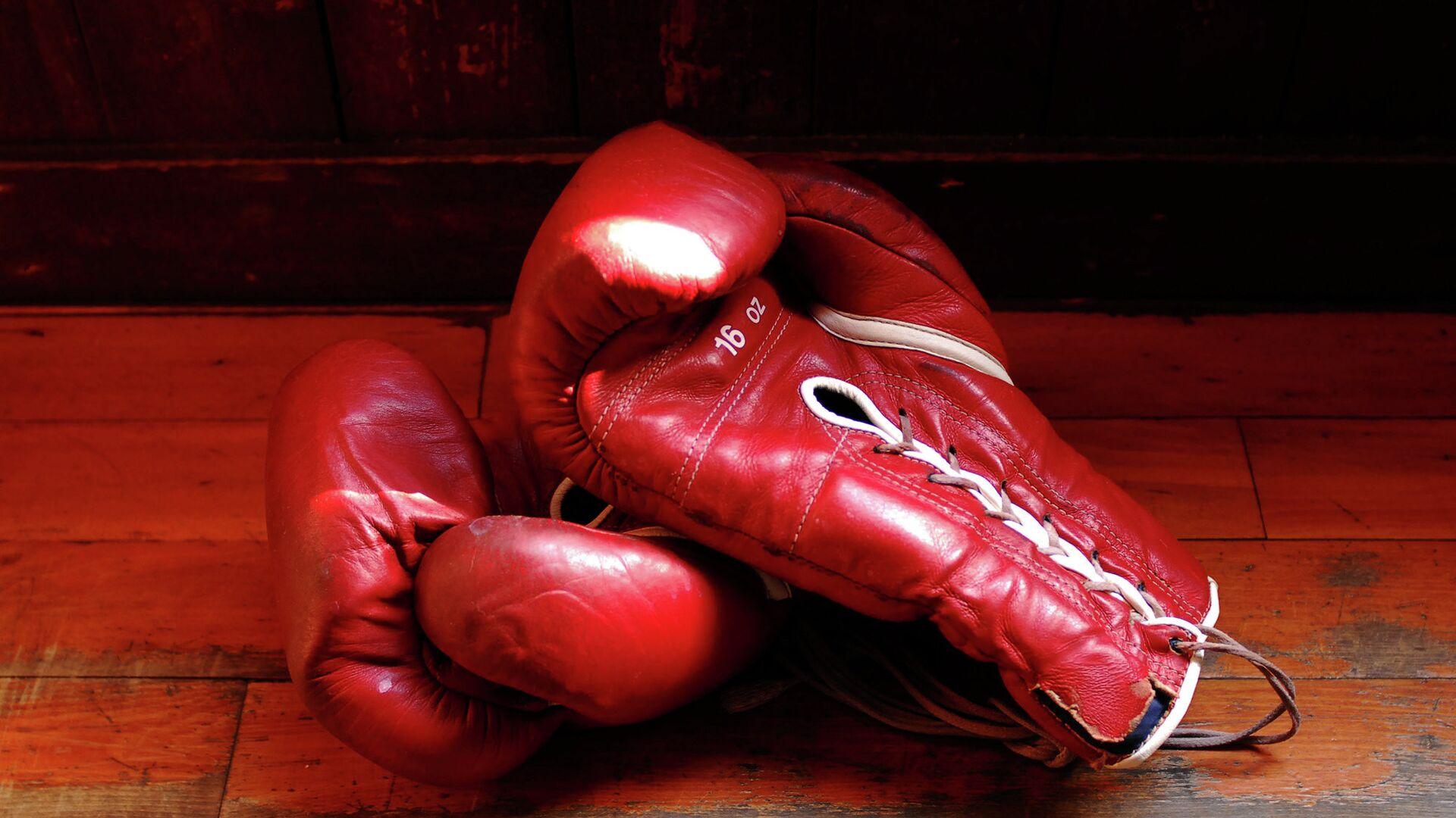 Боксерские перчатки - РИА Новости, 1920, 25.09.2021