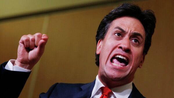 Лидер британских лейбористов Эд Милибанд . Архивное фото