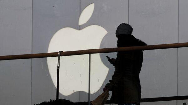 Логотип компании Apple. Архивное фото