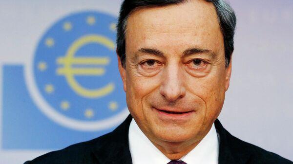Глава ЕЦБ Марио Драги. Архивное фото