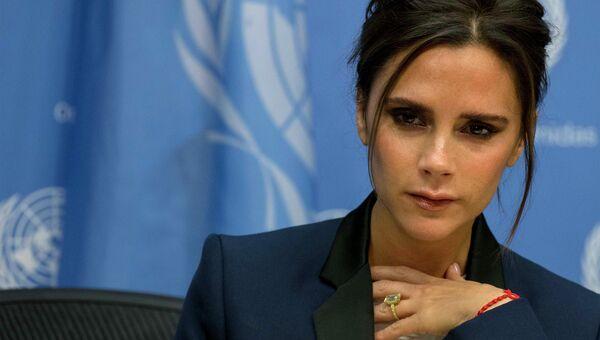 Виктория Бекхэм назначена послом доброй воли ООН по борьбе со СПИДом