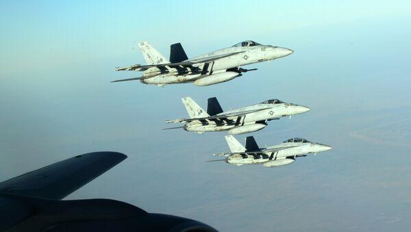 Самолеты ВВС США в небе над Ираком