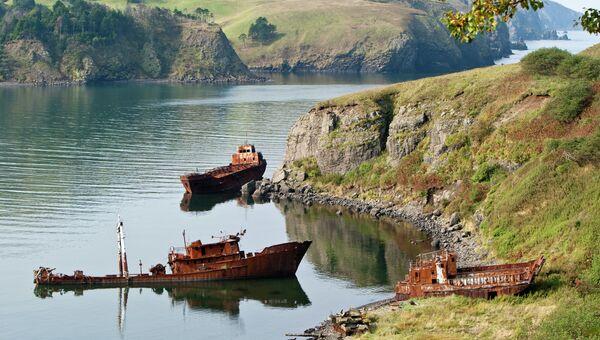 Курильские острова. Архивное фото