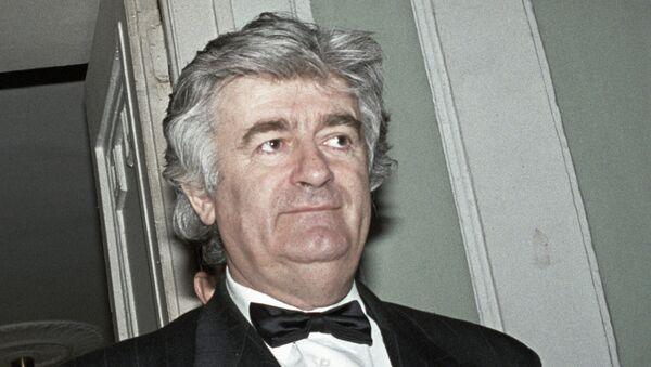 Радован Караджич. Архивное фото
