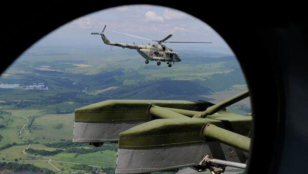 Вертолет Ми-8МТВ-5 (МИ-17В-5). Архивное фото