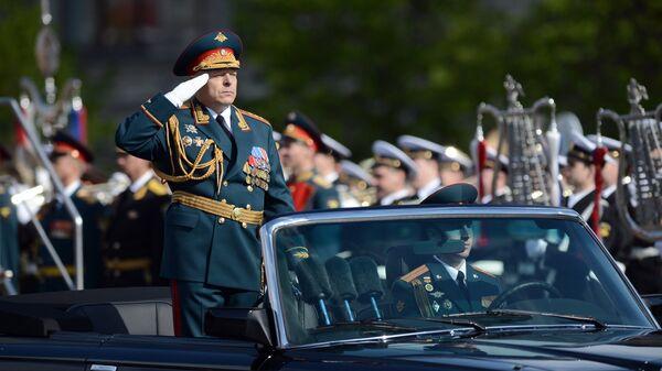 Главнокомандующий Сухопутными войсками (СВ) России, генерал-полковник Олег Салюков. Архивное фото