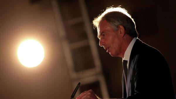 Бывший премьер-министр Великобритании Тони Блэр. Архивное фото