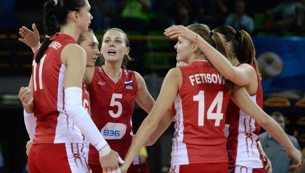 Женская сборная России по волейболу. Архивное фото