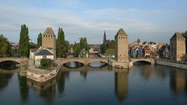 Города мира. Страсбург. Архивное фото