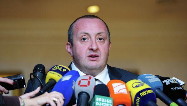 Президент Грузии Георгий Маргвелашвили. Архивное фото
