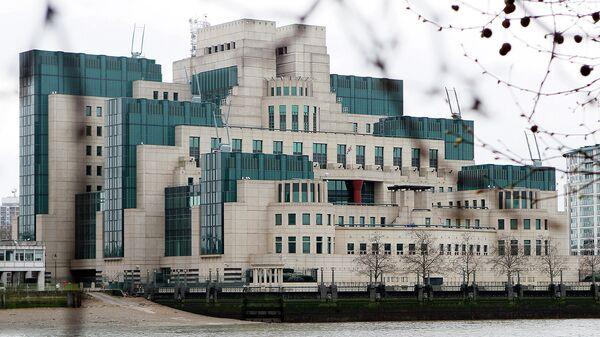 Штаб-квартира внешней разведки Великобритании MI6 в Лондоне. Архивное фото