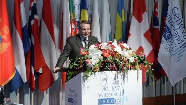 Председатель Парламентской ассамблеи Организации по безопасности и сотрудничеству в Европе (ОБСЕ) Илкка Канерва. Архивное фото