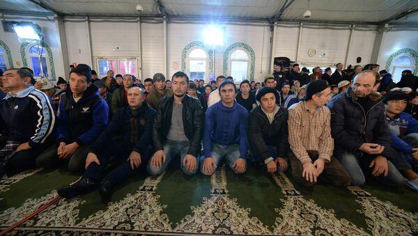 Праздник Курбан-байрам в Москве, архивное фото