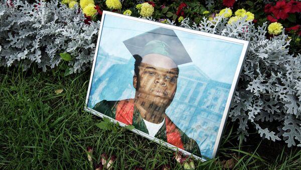 Портрет убитого в Фергюсоне Майкла Брауна. Архивное фото