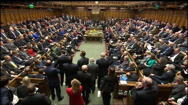 Заседание парламента в Лондоне, Великобритания. Архивное фото